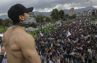 مئات الآلاف يتظاهرون في كولومبيا