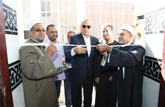 محافظ قنا يفتتح أعمال إحلال وتجديد مسجد سعودي بمنطقة سيدي عمر| صور