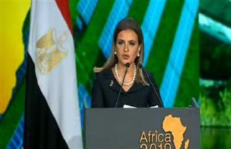 سحر نصر: إفريقيا لديها المزيد من الفرص الواعدة.. ولابد من التكاتف لتحقيق التنمية بالقارة السمراء