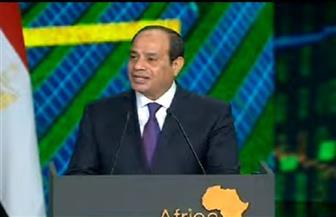 الرئيس السيسي: سنبحث سنويا ما يحقق لشعوبنا التنمية المنشودة في ظل عالم مليء بالصعوبات والتحديات