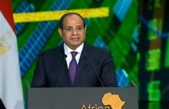 الرئيس السيسي: التنمية في إفريقيا تتطلب مشاركة القطاع الخاص.. والتجارة البينية لا تتجاوز 15% حاليا