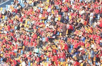 مدرجات إستاد القاهرة تتزين بالجمهور والأعلام قبل نهائي أمم إفريقيا بين مصر وكوت ديفوار| صور