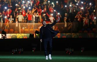 """تامر حسنى يشعل حفل ختام كأس الأمم الإفريقية: """"صقفة كبيرة لمصر"""""""