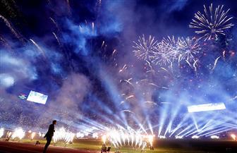 حفل ختام أسطوري لنهائي الأمم الإفريقية تحت 23 عاما بإستاد القاهرة | صور
