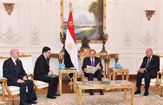 تفاصيل استقبال الرئيس السيسي لوزير خارجية المغرب