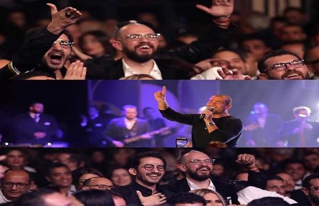 عمرو دياب يرد على أحمد حلمي بعد تعليق  الفراولاية  -