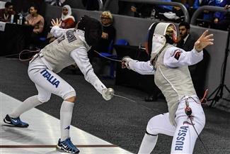 المصنفة الأولى تودع منافسات كأس العالم لسلاح الشيش من الدور الأول