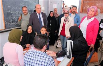 الكشف على  1500 مواطن في قافلة طبية شاملة من جامعة طنطا بمدينة المحلة الكبرى| صور