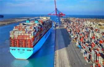 17 سفينة إجمالى حركة سفن الحاويات والبضائع بموانى بورسعيد