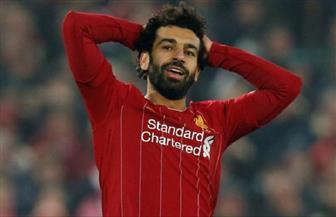 محمد صلاح على دكة بدلاء ليفربول في مواجهة كريستال بالاس