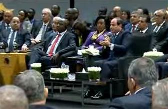 الرئيس السيسي يدعو البنك الدولي وصندوق النقد للقيام بعمل اقتصادي كبير لتغيير الواقع في إفريقيا