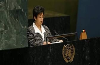 نميرة نجم: توقع فوز مصر بالتزكية بمقعد في انتخابات مجلس الأمن والسلم الإفريقي