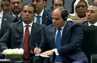 الرئيس السيسي: نتحرك في مصر نحو ميكنة الإجراءات وحوكمة جميع الأنشطة