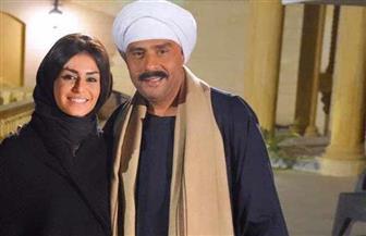 """منة فضالي ومحمود عبدالمغني في كواليس """"جوارح الغربان"""""""