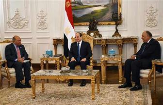 الرئيس السيسي يستقبل رئيس البنك الأوروبي لإعادة الإعمار والتنمية