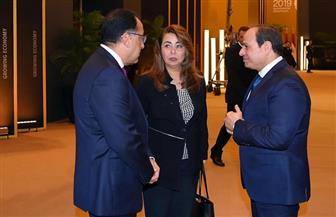 الرئيس السيسي يهنئ غادة والي بمنصبها الجديد بالأمم المتحدة