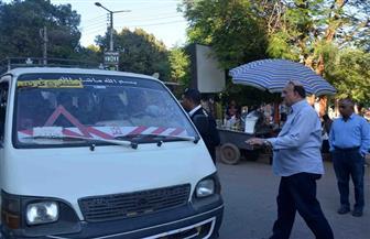 حملة مكبرة مفاجئة على المواقف والميادين بمدينة الأقصر وتحرير 17 مخالفة