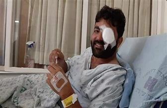 معاذ عمارنة: الرصاصة مستقرة برأسي ويعجز الأطباء عن إخراجها| فيديو