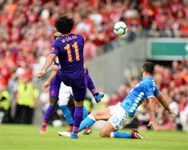 مدرب ليفربول يحدد موقف محمد صلاح أمام نابولي