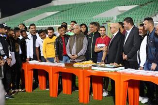 المصري يكرم لاعبه كريم العراقي بعد التتويج الإفريقي والتأهل لطوكيو
