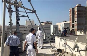 إزالة محطتي تقوية محمول بمدينة نصر لخطورتهما على السكان