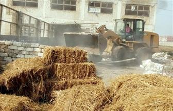 إزالة 45 حالة تعد على الأراضي الزراعية والري بسوهاج