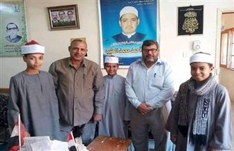 معهدا الحاج صالح وأصفون يفوزان في مسابقة الإنشاد الديني بالأقصر | صور