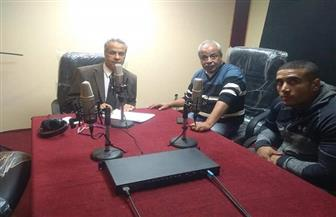لأول مرة.. إذاعة القناة تفعل بروتوكول البث المباشر من داخل جامعة قناة السويس | صور