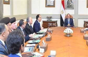 الرئيس السيسي يستعرض الموقف التنفيذي لمشروعات تنمية شمال سيناء