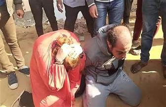 تستعين بخطيب شقيقتها لذبح صديقها وضبطهما أثناء محاولتهما إلقاء جثته بالمريوطية