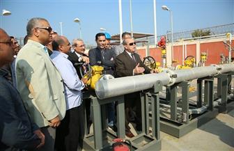 محافظ كفر الشيخ يفتتح محطة قلين للغاز الطبيعي ويكشف أعداد المتعاقدين | صور