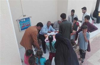 الكشف على 490 مريضا من سكان الجفيرة وزاوية العوامة في الضبعة| صور
