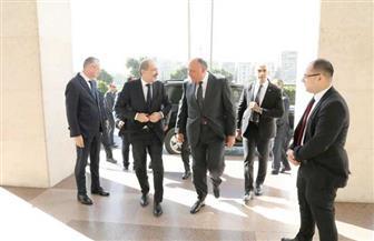 لقاء مشترك لوزيري خارجية  مصر والأردن قبيل مجلس الجامعة العربية | صور
