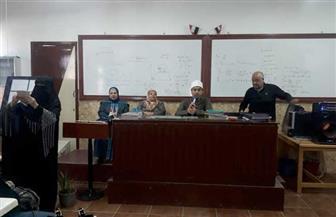 أوقاف بورسعيد تنظم ندوة دينية لطلاب المدارس   صور