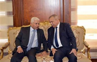 المستشار عصام المنشاوي يستقبل رئيس مجلس القضاء الأعلى | صور