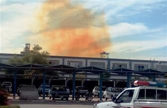 إيقاف وحدة حامض النيتريك بمصنع كيما القديم بسبب الانبعاثات الضارة