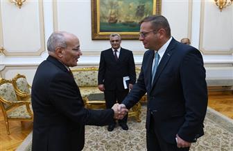 """""""العصار"""" يستقبل سفير التشيك لبحث أوجه التعاون المشترك"""