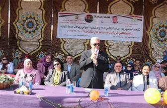 رئيس جامعة المنوفية يفتتح مهرجان الجوالة الكشفي الـ 37 | صور