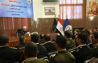 قطاع السجون ينظم ندوة تثقيفية لأعضاء هيئة الشرطة بمنطقة سجون طرة بحضور المفتي