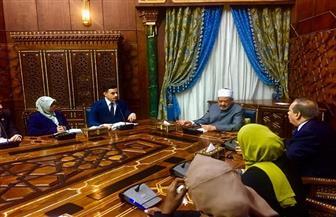 الإمام الأكبر يلتقي برلمان الطلاب الوافدين.. ويؤكد: رسالة الأزهر أمانة في أعناقكم فحافظوا عليها| صور