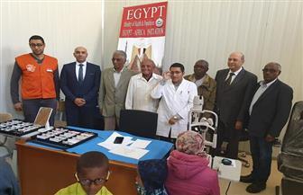 مصر توفد قافلة طبية إلى إريتريا في إطار تفعيل مبادرة الرئيس لعلاج مليون مواطن إفريقي|صور