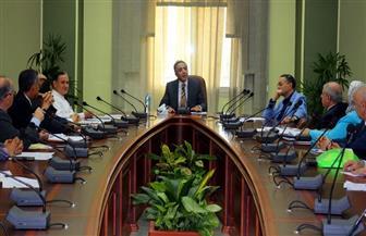 اللجنة العليا لأخلاقيات البحث العلمي بجامعة المنصورة تعقد أول اجتماعاتها|صورة