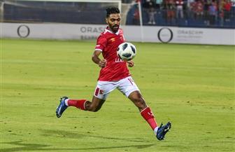 حسين الشحات يسجل الهدف الرابع للأهلي أمام الجونة