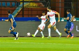 """محمد شريف يحرز هدفا قاتلا لـ""""إنبي"""" في مرمى الزمالك"""