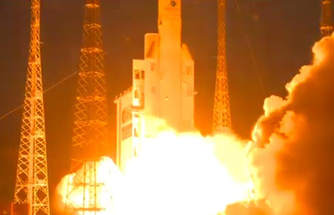 إطلاق القمر الصناعي المصري الأول