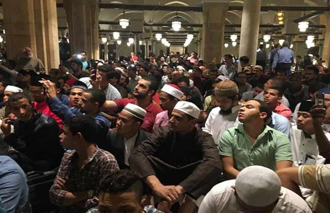 الحضور فى ندوة التسامح فى الاسلام