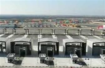 الرئيس السيسي يشهد افتتاح المجمع الصناعي بالرسوة