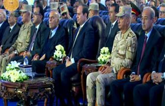 الرئيس السيسي يشهد افتتاح الصالة المغطاة بالعريش بتكلفة استثمارية 92 مليون جنيه