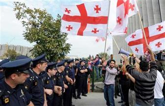استمرار المظاهرات في جورجيا واعتقال العشرات