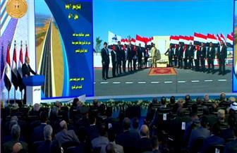 الرئيس السيسي يشهد افتتاح أنفاق 3 يوليو جنوب بورسعيد